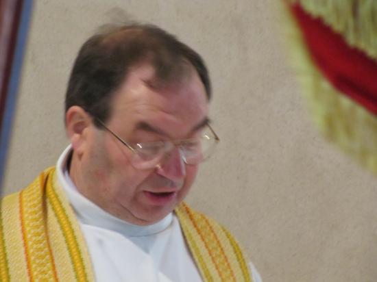 Messe par le Père HERBERT